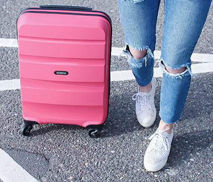 <p><strong>SWEET SPRING</strong>&nbsp;with American Tourister</p>