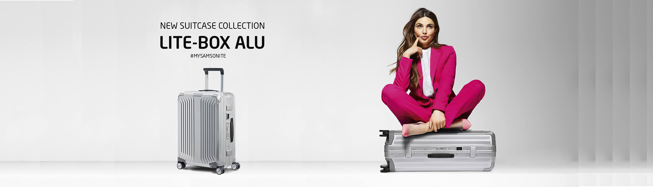 New Samsonite Alu-Box