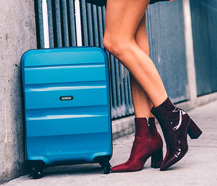 Travel with American Tourister