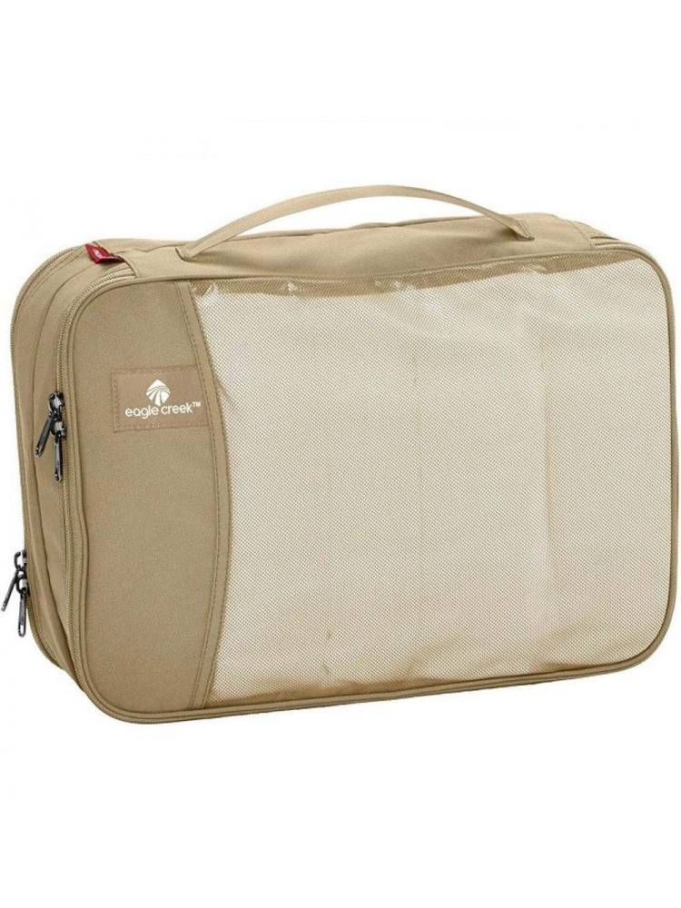 Eagle Creek Pack-It Clean Dirty Cube M bruin | Wennekes.nl