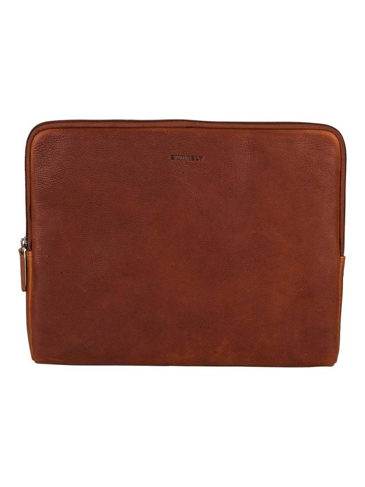 Burkely Antique Avery Laptopsleeve 13.3 inch cognac | Wennekes.nl