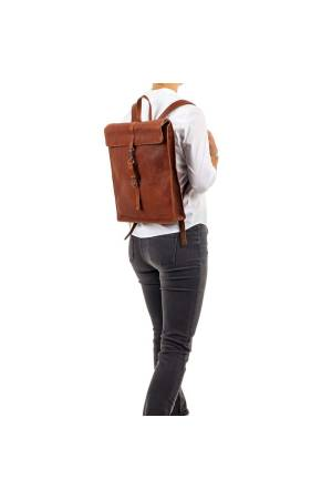 Burkely Antique Avery Backpack cognac | Wennekes.nl