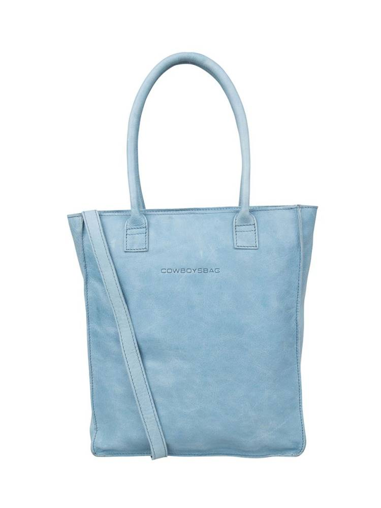 Cowboysbag Laptop Bag Woodridge 15 inch blauw | Wennekes.nl