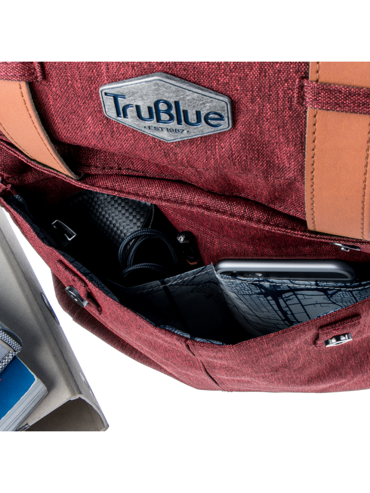 Trublue The Patriot bordeaux | Wennekes.nl