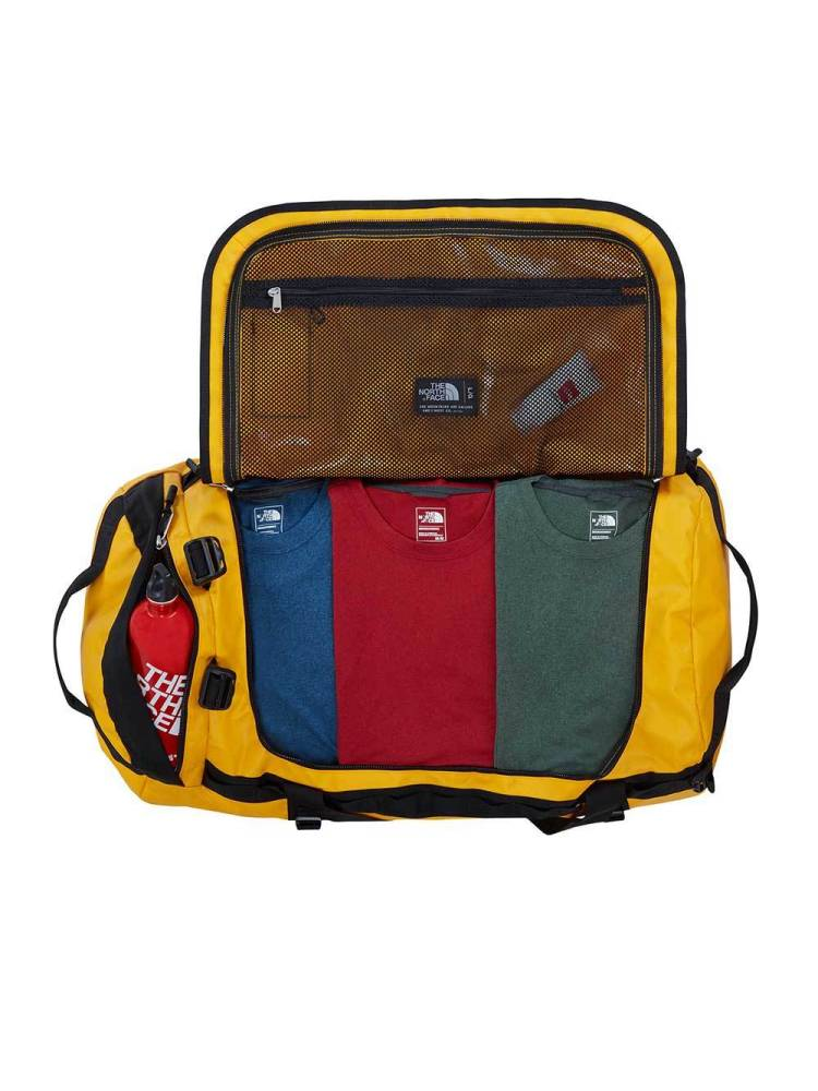 The North Face Base Camp Duffle L geel combi | Wennekes.nl