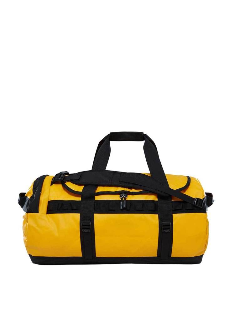 The North Face Base Camp Duffle M geel combi | Wennekes.nl