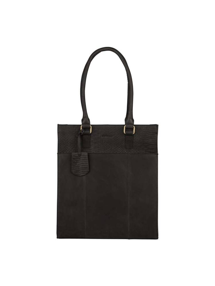 Burkely Hunt Hailey Shopper  zwart | Wennekes.nl