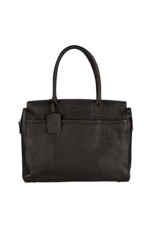 Burkely Antique Avery Laptopbag 15.6 inch zwart | Wennekes.nl