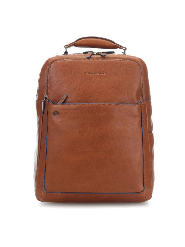 Piquadro Fast Check Computer Backpack with IPad 10.5 inch cognac | Wennekes.nl