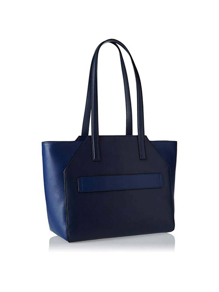 Piquadro Shopping Bag with Notebook Sleeve and iPad Air/ Pro 9.7 inch blauw | Wennekes.nl
