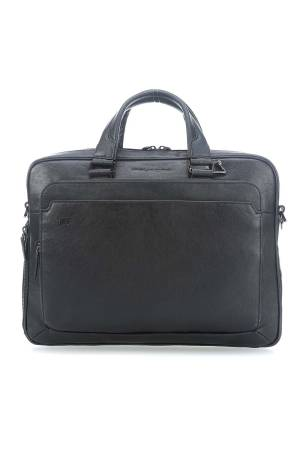 Piquadro Laptoptassen Portfolio Computer Briefcase with iPad Air/Pro 9.7