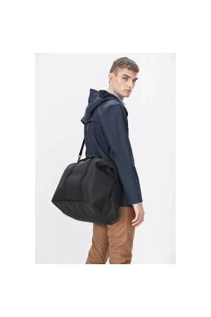 Rains Original Weekend Bag zwart | Wennekes.nl
