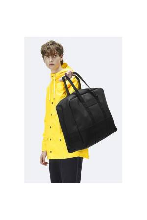 Rains Luggage Bag zwart | Wennekes.nl