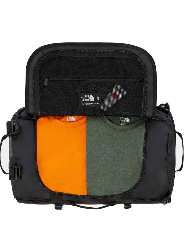 The North Face Base Camp Duffle S zwart combi | Wennekes.nl