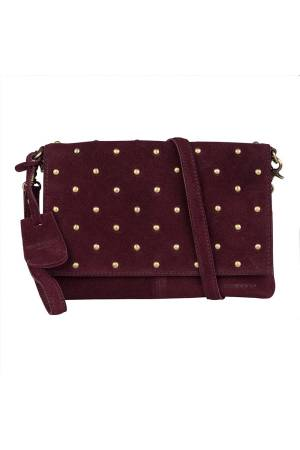 Burkely Evening Clutch Studs paars | Wennekes.nl