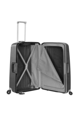 Samsonite B-Locked Spinner 69/25 grijs | Wennekes.nl