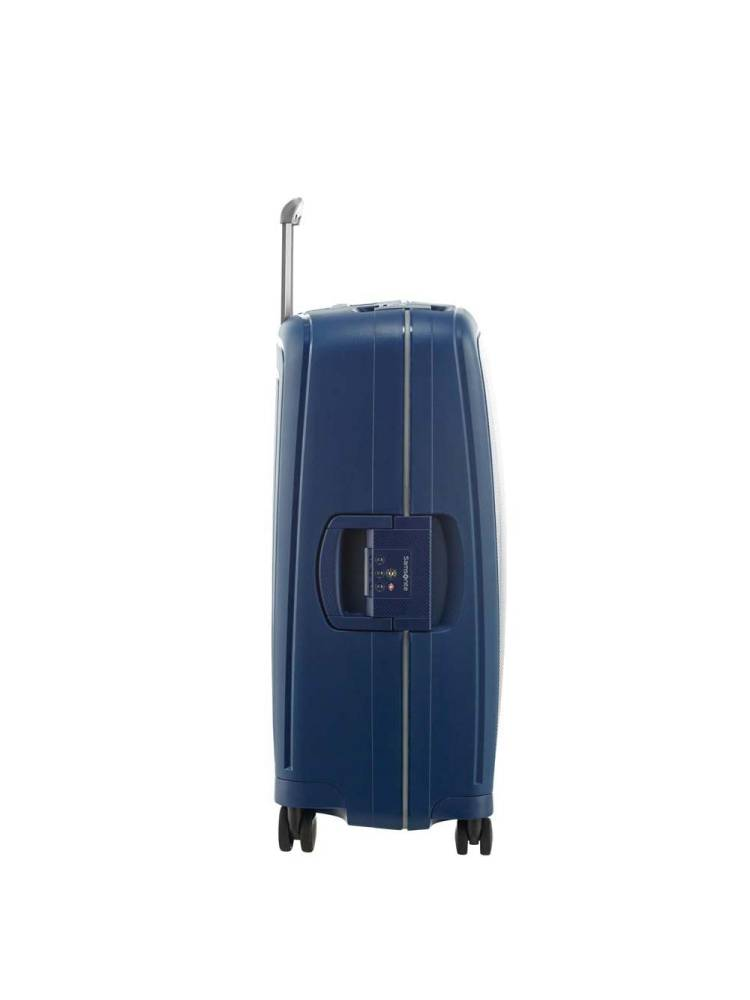 Samsonite B-Locked Spinner 69/25 blauw | Wennekes.nl
