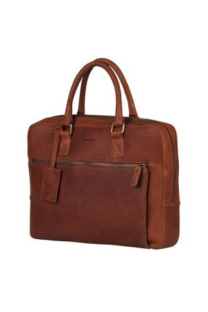 Burkely Antique Avery Laptopbag 13.3 inch cognac | Wennekes.nl