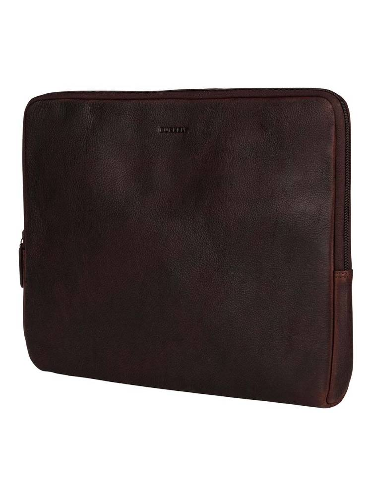 Burkely Antique Avery Laptopsleeve 15.6 inch bruin | Wennekes.nl