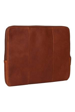 Burkely Antique Avery Laptopsleeve 15.6 inch cognac | Wennekes.nl