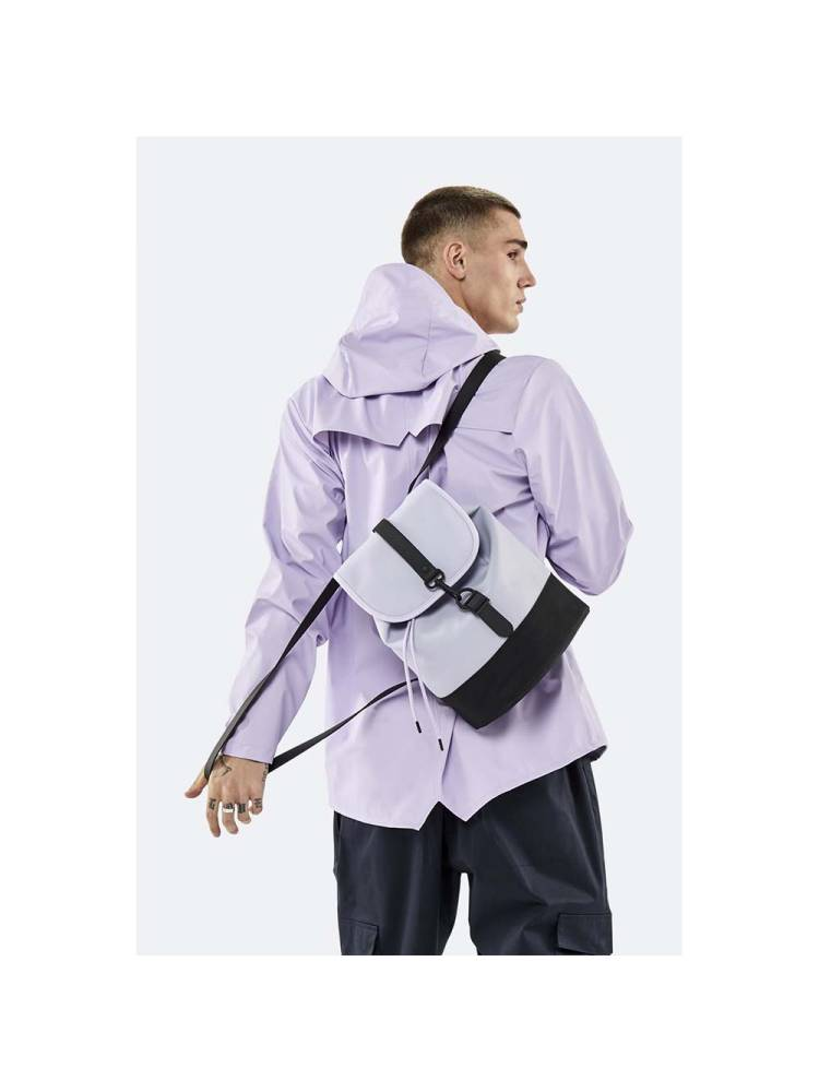Rains Drawstring Backpack lila | Wennekes.nl