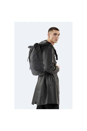 Rains Roll Top Backpack zwart | Wennekes.nl