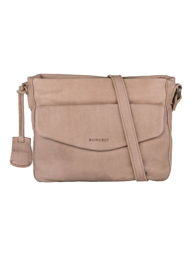 Burkely Just Jackie X-Over M Flap pale pink | Wennekes.nl