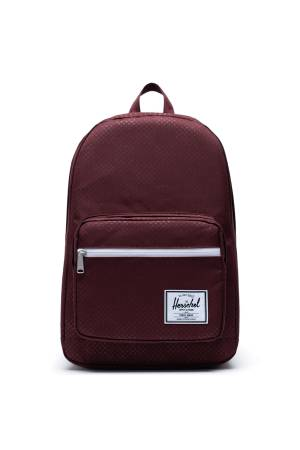 Herschel Pop Quiz bordeaux | Wennekes.nl