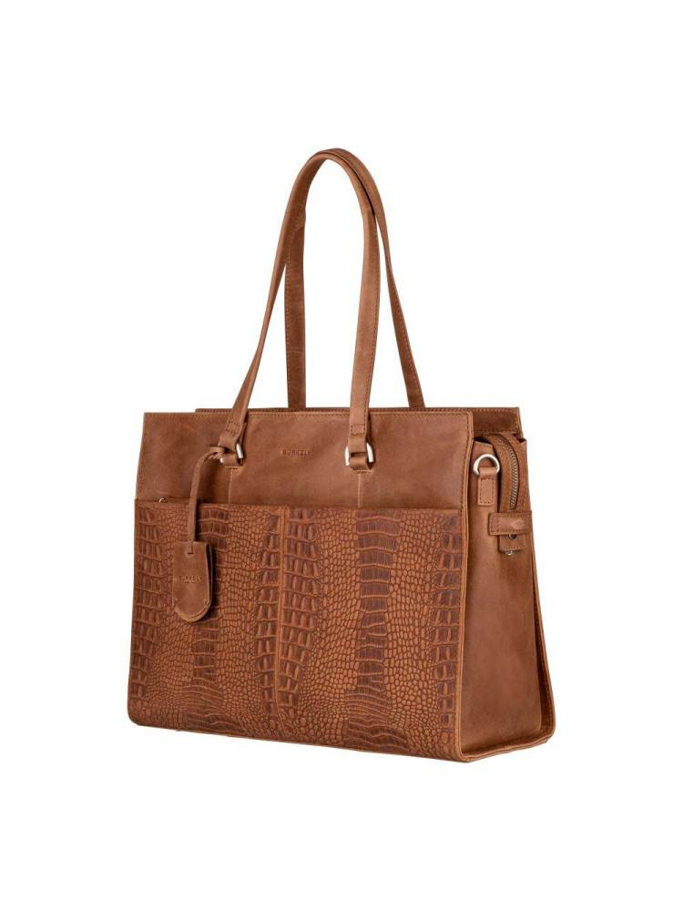Burkely About Ally Workbag cognac | Wennekes.nl