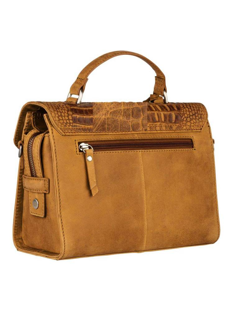 Burkely About Ally Citybag geel | Wennekes.nl