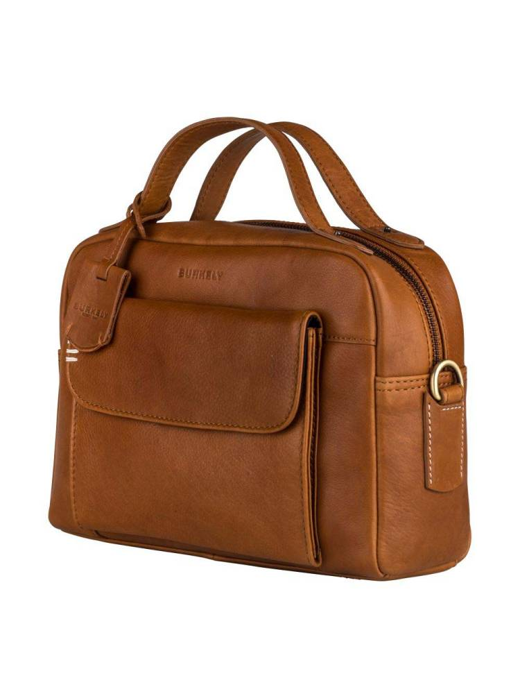 Burkely Craft Caily Citybag bruin | Wennekes.nl