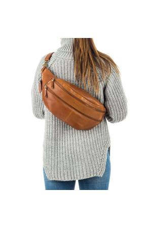 Burkely Craft Caily Oversized Bumbag bruin | Wennekes.nl