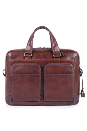 Piquadro Laptoptassen Portfolio Computer Briefcase with Ipad 10.5/9.7 inch