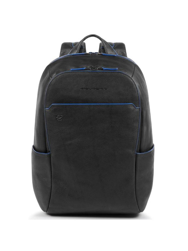 Piquadro Small Size Computer Backpack with Ipad 10.5 inch zwart | Wennekes.nl