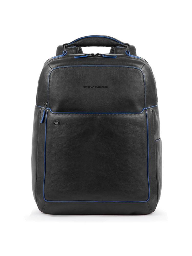 Piquadro Fast Check Computer Backpack with Ipad 10.5 inch zwart | Wennekes.nl