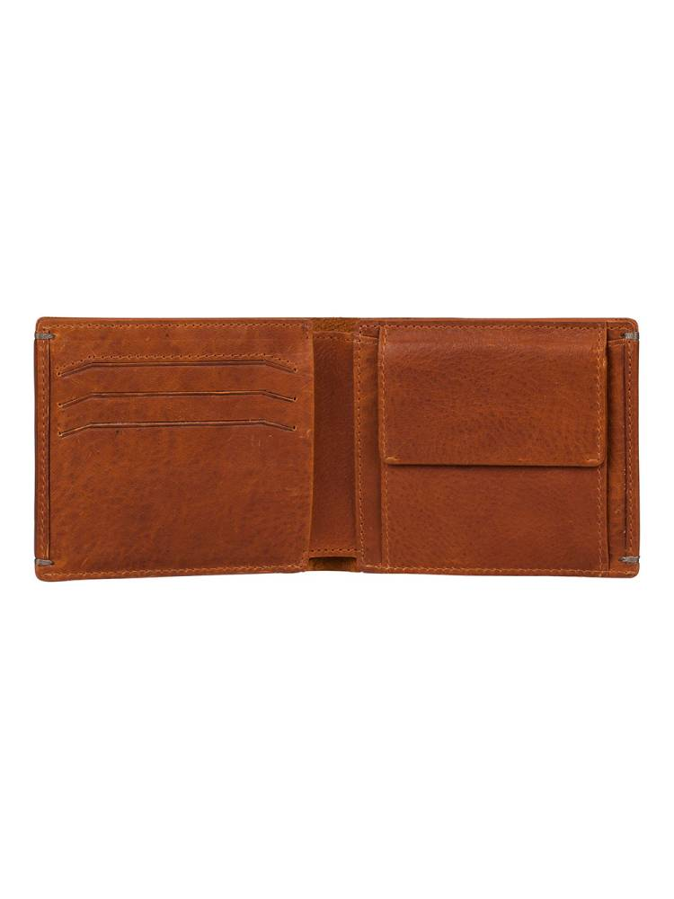 Burkely Antique Avery Billfold Low Coin cognac | Wennekes.nl