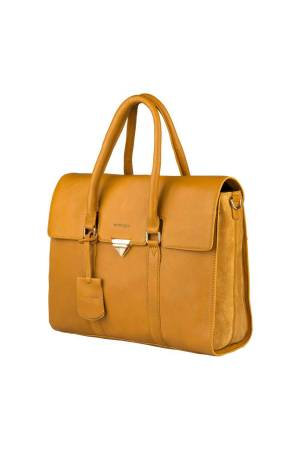 Burkely Secret Sage Workbag geel | Wennekes.nl