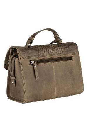 Burkely Croco Cody Citybag roen | Wennekes.nl