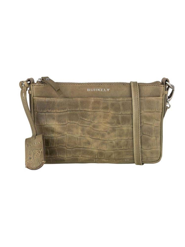 Burkely Croco Caia Crossover Clutch M roen | Wennekes.nl