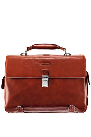 Piquadro Werktassen Leather Briefcase