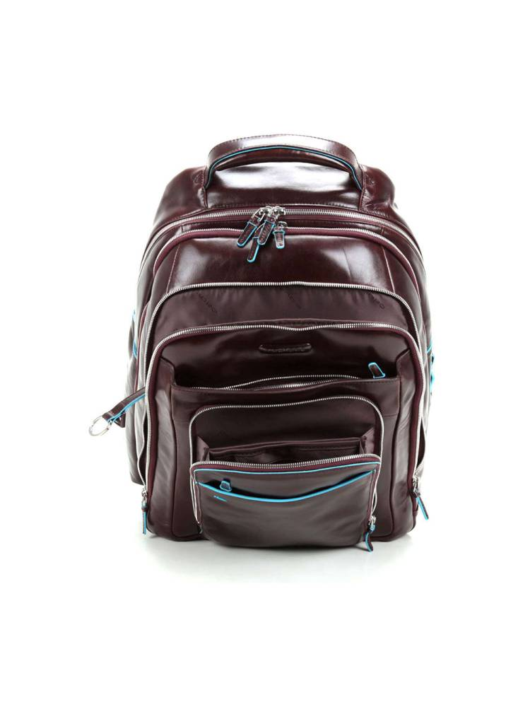 Piquadro Computer Backpack With mocca | Wennekes.nl
