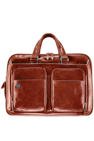 Blue Square 16 Inch Briefcase