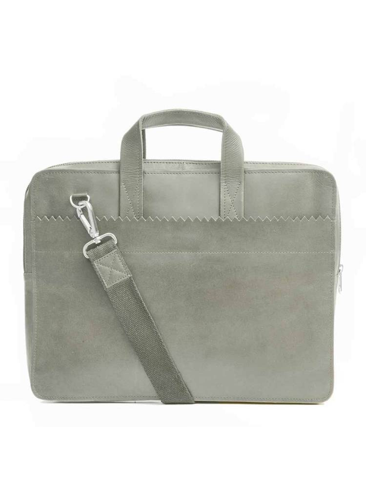 Myomy Do Goods My Paper Bag Laptop Bag grijs | Wennekes.nl