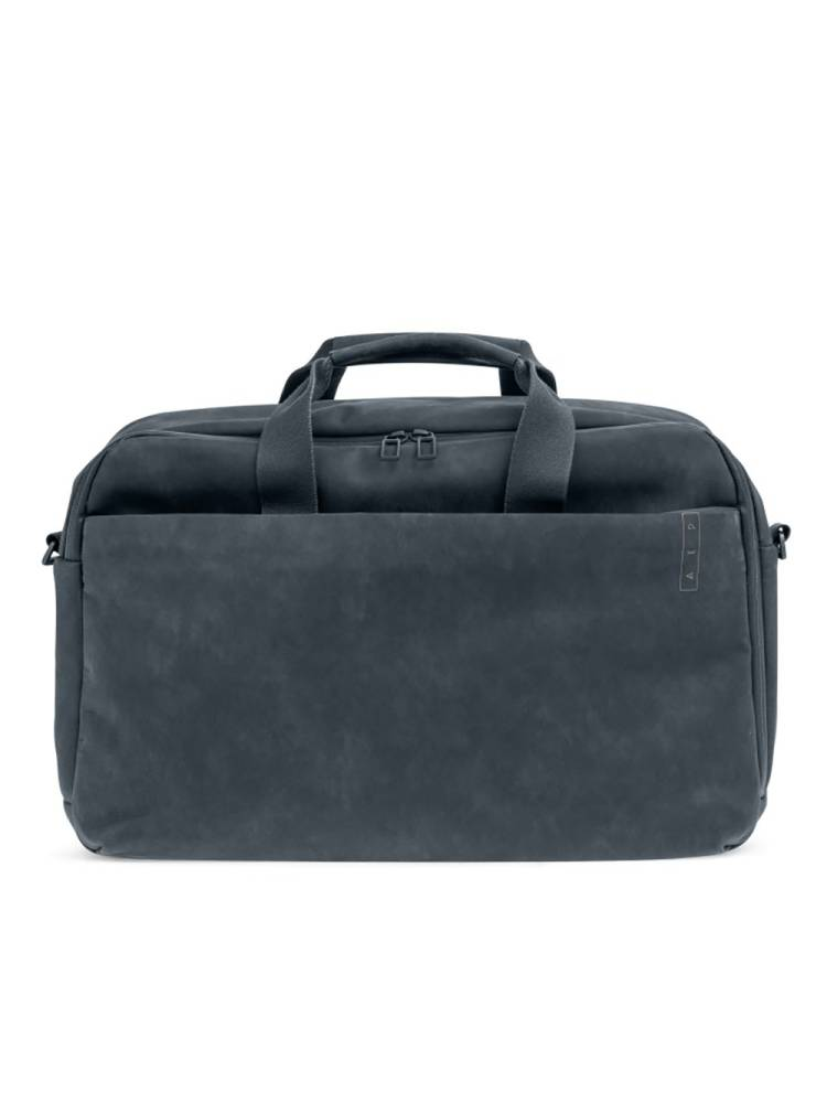 AEP AEP Workbag Leather 15 Inch grijs | Wennekes.nl