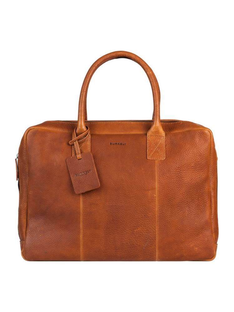 Burkely Antique Avery Worker 15,6 cognac | Wennekes.nl