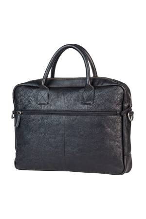 Burkely Burkely Antique Avery Laptopbag zwart | Wennekes.nl