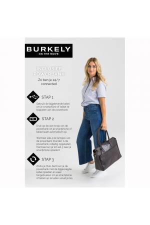 Burkely Burkely Back To School Zipper zwart | Wennekes.nl