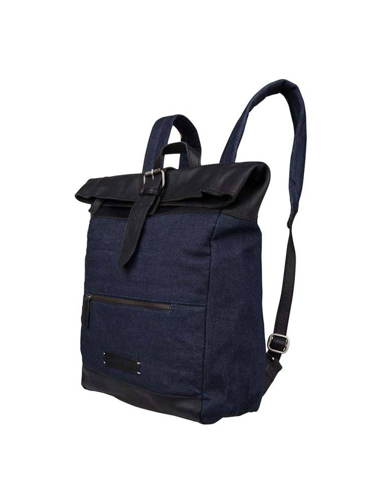 Cowboysbag Denim Days Backpack Wesport 15.6 zwart | Wennekes.nl