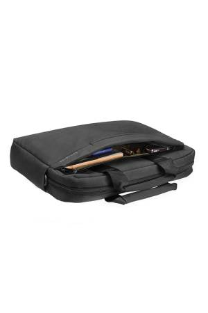 Samsonite Network 2 Laptopbag 17 Inch antraciet | Wennekes.nl