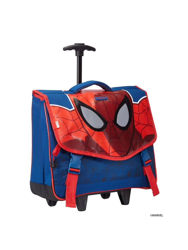 Samsonite Marvel Wonder Roll Schoolbag M blauw multi | Wennekes.nl